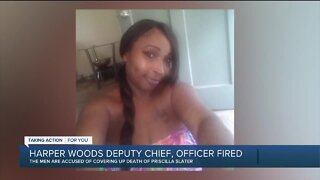 Deputy chief, officer fired amid investigation into woman's death while in police custody