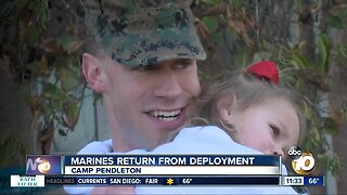 Marines, sailors return from lengthy deployment