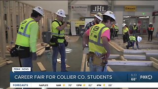 Career fair for Collier County students