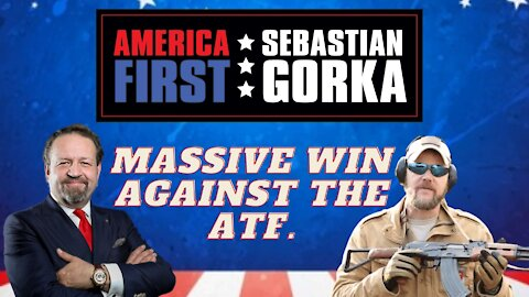 Massive win against the ATF. Tim Harmsen with Sebastian Gorka on AMERICA First