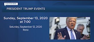Trump coming to Nevada for 2 campaign events
