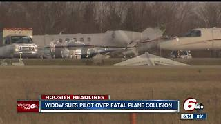Lawsuit filed over fatal plane collision in Marion - Video