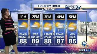 South Florida Monday afternoon forecast (7/2/18) - Video