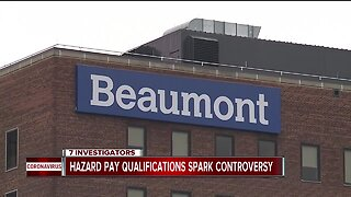 They treat COVID patients, but some Beaumont employees won't receive hazard pay