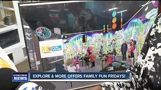 Explore & More kicks off Family Fun Fridays at Canalside - Video