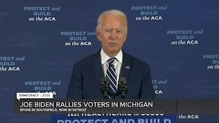 Joe Biden speaks in Southfield & Detroit