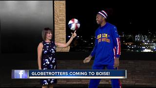 Harlem Globetrotters stop by Good Morning Idaho - Video