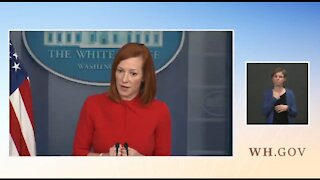 Psaki BACKTRACKS On Claim They Are Only Taking In Migrant Kids