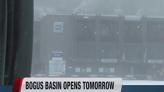 Bogus Basin opens tomorrow - Video