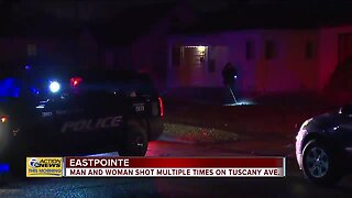 Man, woman shot multiple times on Tuscany Ave in Eastpointe