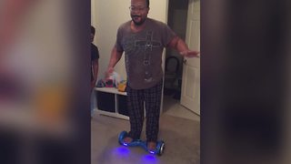 Epic Hoverboard Fail - Video