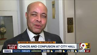 Cincinnati City Manager Harry Black denies Mayor Cranley's report he'd agreed to resign - Video