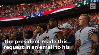 Trump Launches Petition Targeting 'Spineless' ESPN - Video