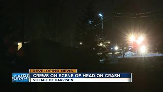 Serious injuries in Calumet County head-on crash - Video