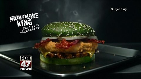 Burger King introduces 'Nightmare King' sandwich