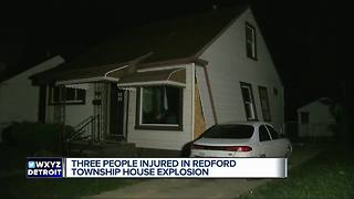 Three people hurt after metro Detroit marijuana house explodes - Video