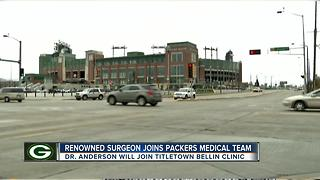Renowned ankle and foot expert joins Packers' medical team - Video
