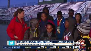 Olympia Track Club helps kids for a better future - Video