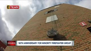 50th Anniversary for minority firefighter group - Video