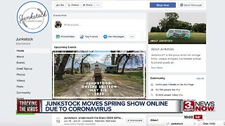 Junkstock moves Spring show online due to COVID-19
