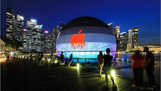 Apple Opening 'Floating' Store In Singapore