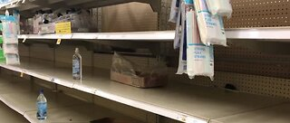 Officials: Don't 'panic buy' groceries