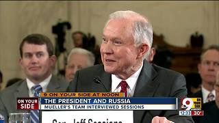 Mueller's team interviewed Jeff Sessions - Video