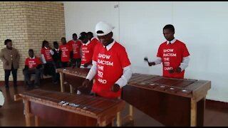 SOUTH AFRICA - Cape Town - Langa High school football outreach (JED)
