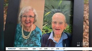 Florida couple celebrates anniversary apart for first time in 70 years