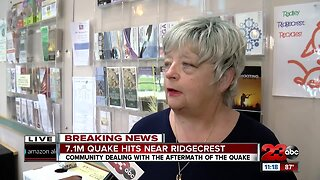 Ridgecrest Mayor Peggy Breeden talks about the city's recovery efforts