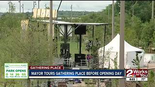 Mayor Bynum talks about what Gathering Place visitors can expect