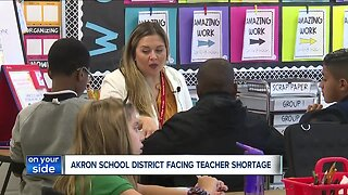 Akron Public Schools District facing a shortage of 28 teachers