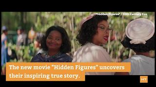 NASA geniuses whose story went untold honored in movie 'Hidden Figures' | Hot Topics - Video