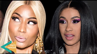 Nicki Minaj Trolls Cardi B Over Breakup With Offset: Cardi Shares 1st Photo Of Baby Kulture | DR