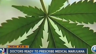 Doctors ready to prescribe medical marijuana - Video