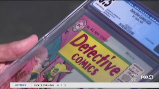 Man who had comic books stolen now selling them