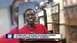 Vigil held for Detroit father-to-be, gunned down during Water Station robbery - Video