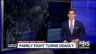 UPDATE: Man shoots, kills son in north Phoenix - Video
