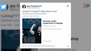 Twitter Shocked That Russian Olympic Curler Failed A Drug Test