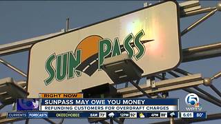 Sunpass will refund overdraft fees after glitch - Video