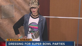 What to wear to the Super Bowl party - Video
