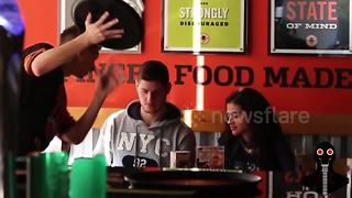 When pranksters become restaurant waiters for the day - Video