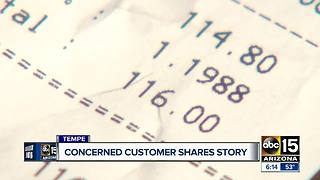 Valley woman shares bizarre experience buying gift card
