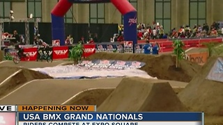 Grands BMX Racing in Tulsa Sunday - Video
