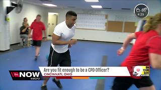 Are you fit enough to be a CPD officer? - Video