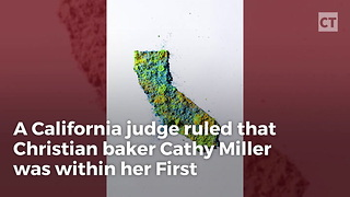 Judge Rules in Favor of Christian Baker - Video