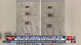 Many voters claim mail-in ballots were ripped