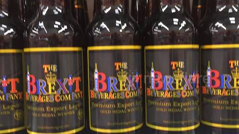 Brexit beer on sale at UK supermarket