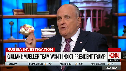 Chris Cuomo Forces Rudy Giuliani to Watch Video Proving His Hypocrisy on Presidential Subpoenas