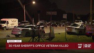 Sheriff: Hillsborough deputy killed after suspect intentionally rams into the deputy's vehicle